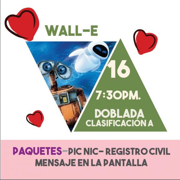 Wall-e Paquetes Románticos 15feb19